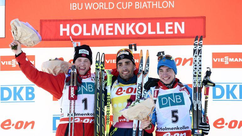 Тарьяй БЕ, Мартен ФУРКАД и Александр ЛОГИНОВ. Фото Reuters