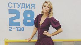"Среда. Москва. Мария ШАРАПОВА за несколько минут до начала съемок шоу ""Вечерний Ургант""."
