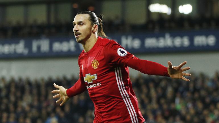 """Златан ИБРАГИМОВИЧ в """"Манчестер Юнайтед"""". Фото Reuters"""