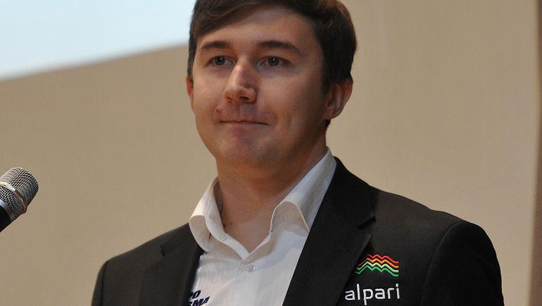 Сергей КАРЯКИН. Фото Алексей ИВАНОВ, «СЭ»