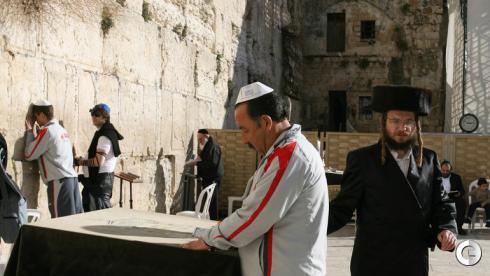 Как футболисты ЦСКА побывали в Иерусалиме