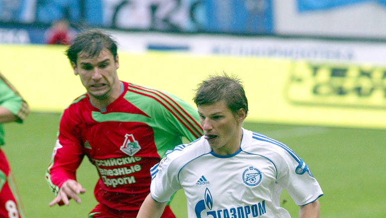 Бранислав ИВАНОВИЧ и Андрей АРШАВИН. Фото Никита УСПЕНСКИЙ, «СЭ»