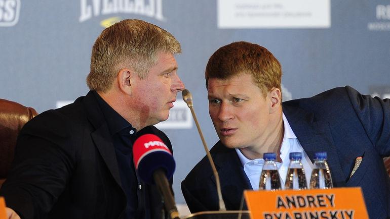 Андрей РЯБИНСКИЙ и Александр ПОВЕТКИН. Фото Федор УСПЕНСКИЙ, «СЭ»