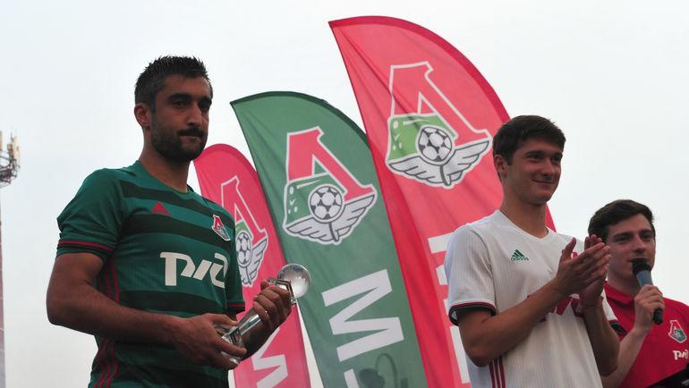 Александр САМЕДОВ (слева) и Алексей МИРАНЧУК (в центре). Фото Никита УСПЕНСКИЙ, «СЭ»