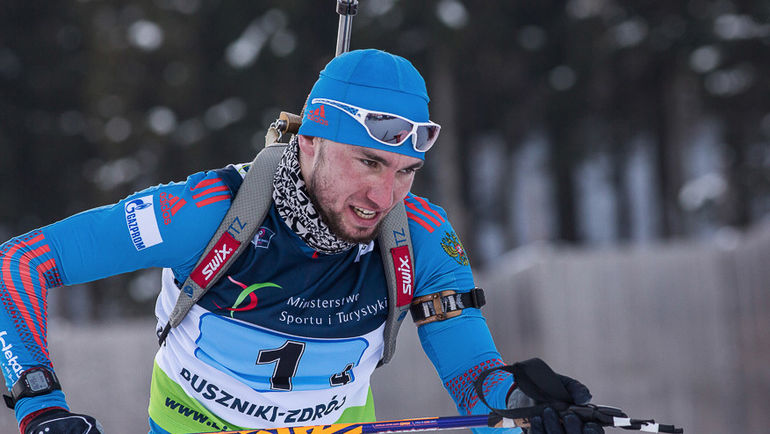 Александр ЛОГИНОВ. Фото Союз биатлонистов России