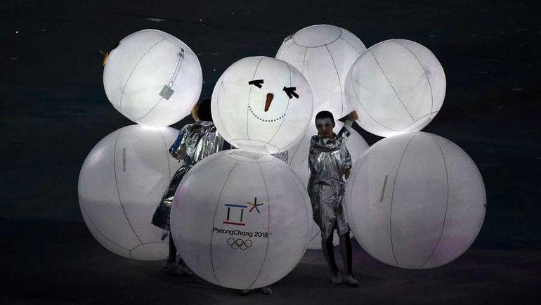 Представление Пхенчхана на церемонии закрытия Игр в Сочи. Фото AFP