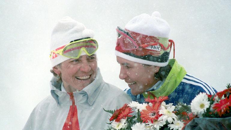 Любовь ЕГОРОВА (слева) и Раиса СМЕТАНИНА. Фото Игорь УТКИН/ТАСС