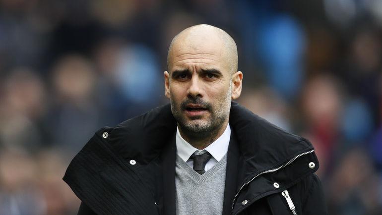"Строгий тренер ""Манчестер Сити"" Пеп ГВАРДЬОЛА. Фото Reuters"