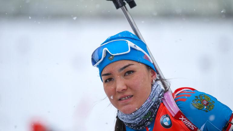 Татьяна АКИМОВА. Фото Союз биатлонистов России