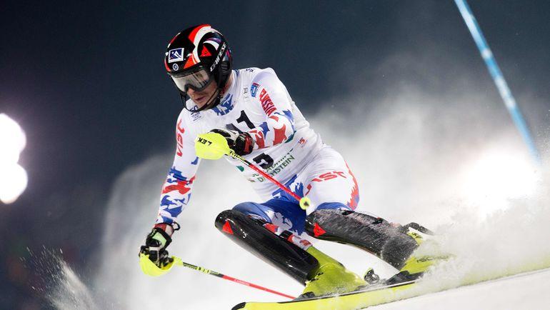 Сильнейший российский горнолыжник Александр ХОРОШИЛОВ. Фото AFP