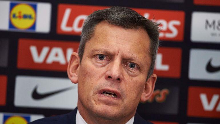 Исполнительный директор FA Мартин ГЛЕНН. Фото AFP