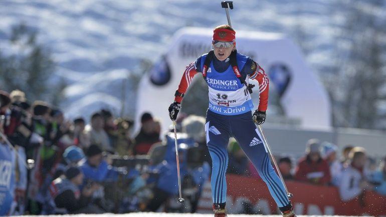 Отстранение Екатерины ГЛАЗЫРИНОЙ спервая было для тренеров тактическим ходом, а теперь - неожиданностью. Фото AFP
