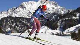 Сегодня. Хохфильцен. Ирина УСЛУГИНА и Татьяна Акимова стали лучшими в составе российской команды, но оказались далеко от медалей.