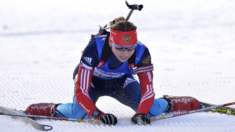 Для Екатерины ГЛАЗЫРИНОЙ чемпионат мира закончился не начавшись. Фото AFP