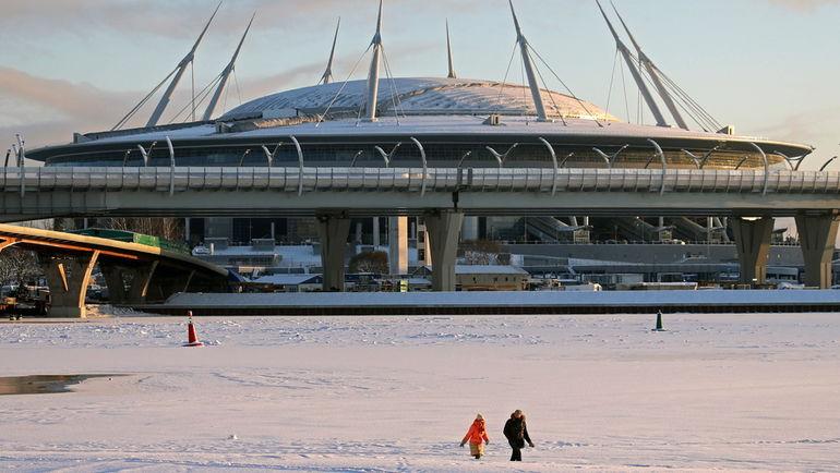 Стадион на Крестовском острове. Фото Александр ДЕМЬЯНЧУК, ТАСС