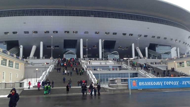 Стадион на Крестовском острове. Фото Сергей ЯРЕМЕНКО., «СЭ»