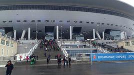 Стадион на Крестовском острове.