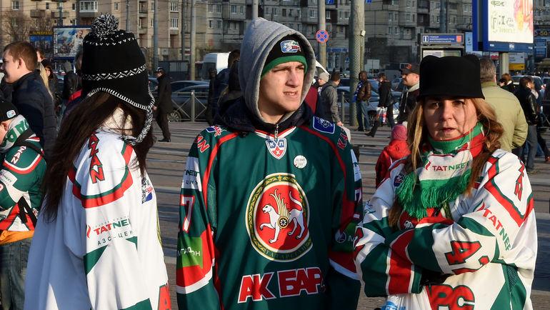 """""""Ак Барс"""" предостерег своих болельщиков. Фото photo.khl.ru"""