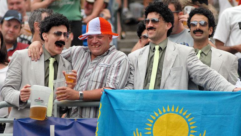 Борат в непристойном свете прославил Казахстан. Фото Reuters