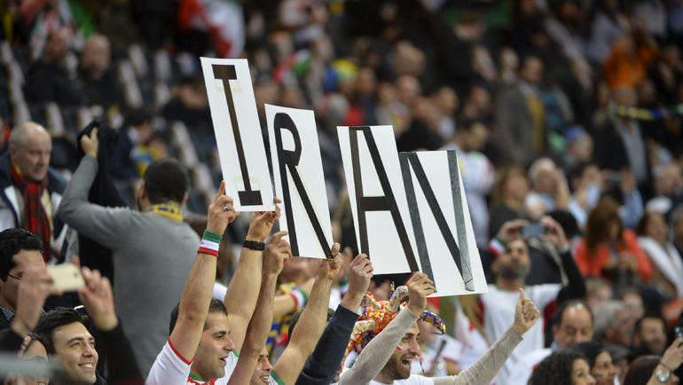 Иранские болельщики. Фото Reuters