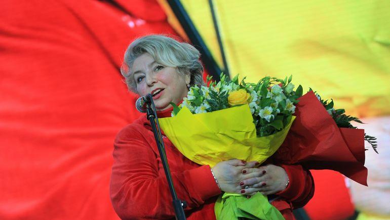 Татьяна ТАРАСОВА в олимпийском Сочи-2014. Фото Руслан ШАМУКОВ/ИТАР-ТАСС