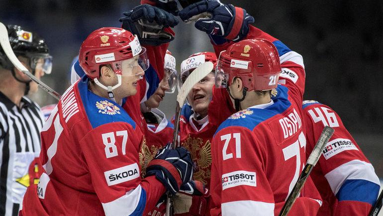 Сборная России выиграла Евротур. Фото Reuters