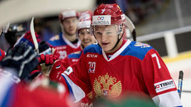 Кирилл КАПРИЗОВ на Шведских играх - 4 (3+1) очка в 3 матчах.