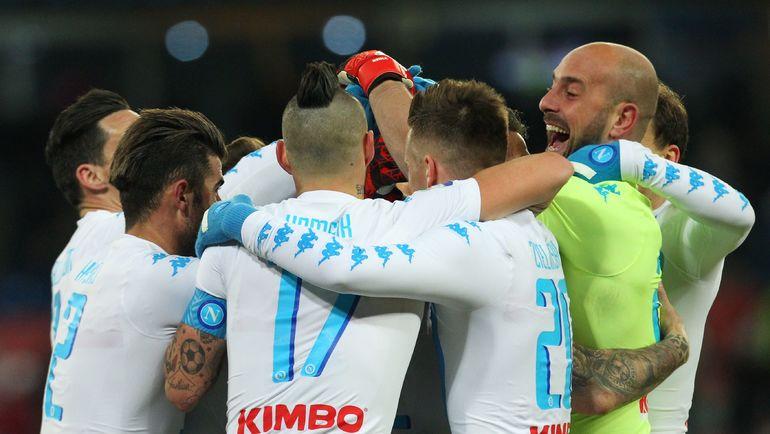 """По мнению Фабио Капелло, """"Наполи"""" по силам пройти """"Реал"""". Фото AFP"""