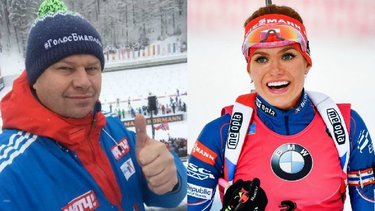 Дмитрий ГУБЕРНИЕВ и Габриэла КОУКАЛОВА. Фото Instagram/AFP