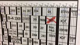 """Расписание занятий в школе """"Витязь"""". Для команды 2003 года тренировка отменена."""