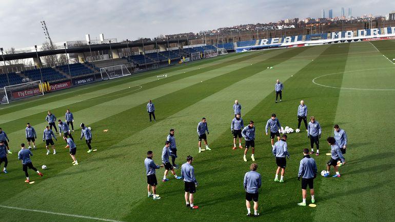 """Тренировка """"Реала"""". Фото AFP"""