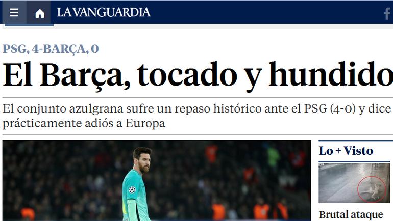 La Vanguadia.