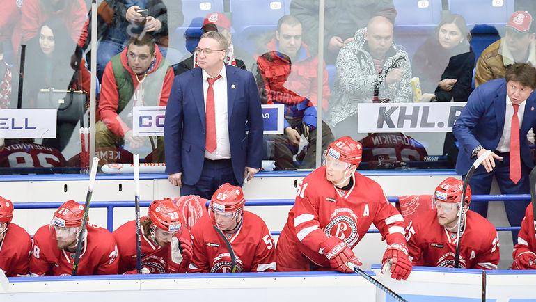 """Валерий БЕЛОВ вывел """"Витязь"""" в плей-офф. Фото ХК """"Витязь"""""""