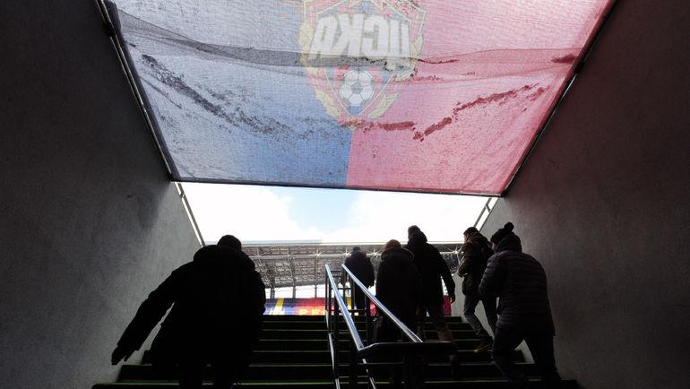 Выход на стадион. Фото Александр ФЕДОРОВ, «СЭ»