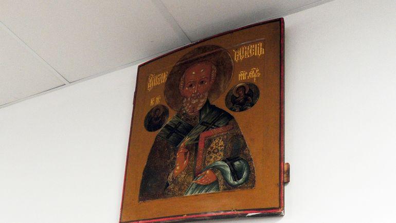 Икона Николая Чудотворца. Фото Александр ФЕДОРОВ, «СЭ»