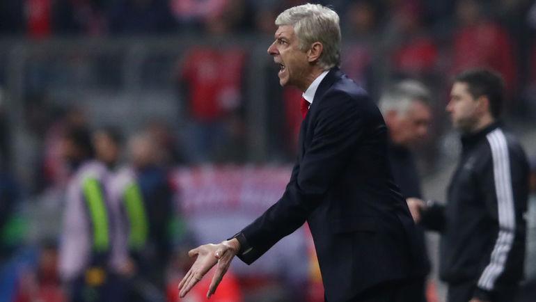 """Среда. Мюнхен. """"Бавария"""" - """"Арсенал"""" - 5:1. Арсен ВЕНГЕР."""