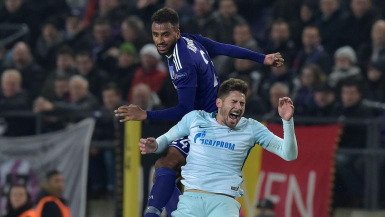 """Четверг. Брюссель. """"Андерлехт"""" - """"Зенит"""" - 2:0. Сине-бело-голубые всухую уступили бельгийской команде. Фото Reuters"""