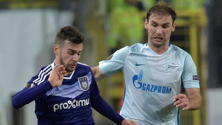 "Бранислав ИВАНОВИЧ (справа) остался недоволен своим дебютом в ""Зените"". Фото Reuters"