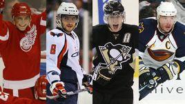 Лучшие российские бомбардиры в истории НХЛ
