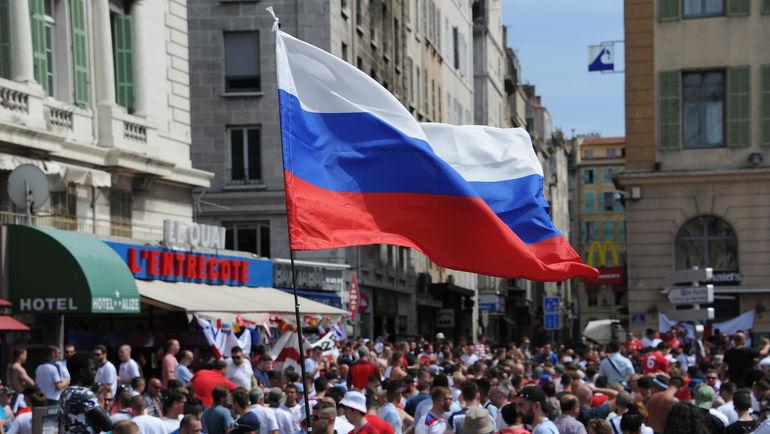 Российские болельщики напугали британцев. Фото Александр ФЕДОРОВ, «СЭ»