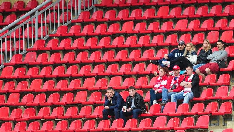 Посещаемость - одна из главных проблем российского футбола. Фото Антон СЕРГИЕНКО