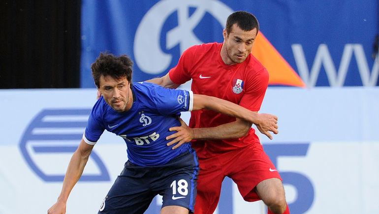 Аслан ДУДИЕВ (справа) против Юрия ЖИРКОВА. Фото Алексей ИВАНОВ, «СЭ»