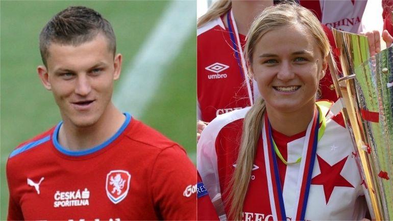 Томаш НЕЦИД и Симона НЕЦИДОВА. Фото UEFA.