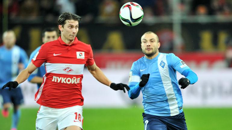 Илья КУТЕПОВ (слева) против Йоана МОЛЛО. Фото Алексей ИВАНОВ, «СЭ»