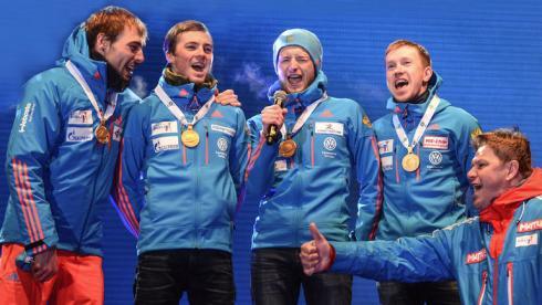 Россия на чемпионате мира.  Песня года