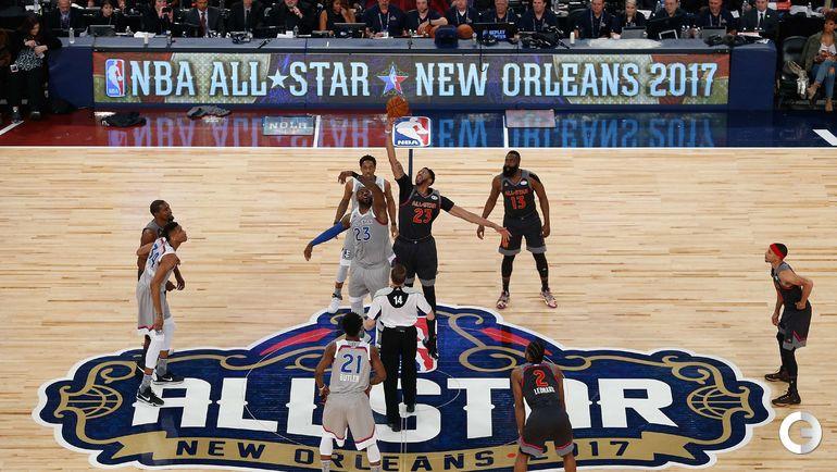 Воскресенье. Новый Орлеан. Матч звезд НБА.