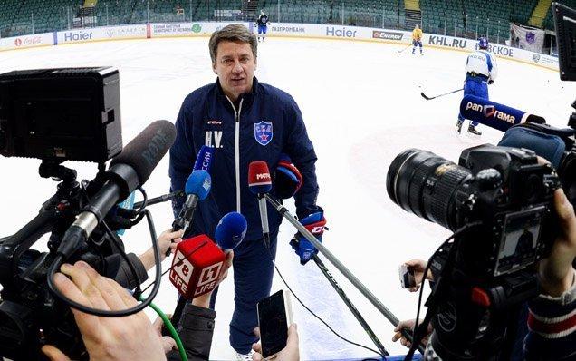 Тренер СКА Харийс ВИТОЛИНЬШ. Фото ХК СКА