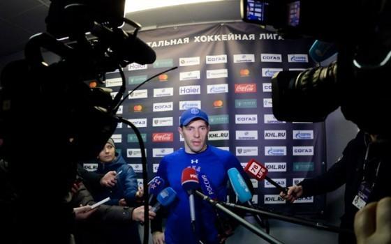 Капитан СКА Павел ДАЦЮК. Фото ХК СКА