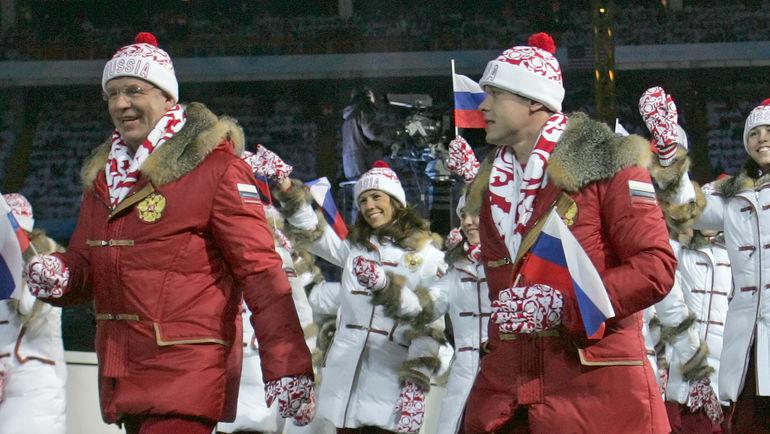Вячеслав ФЕТИСОВ и Павел БУРЕ. Фото Александр ВИЛЬФ