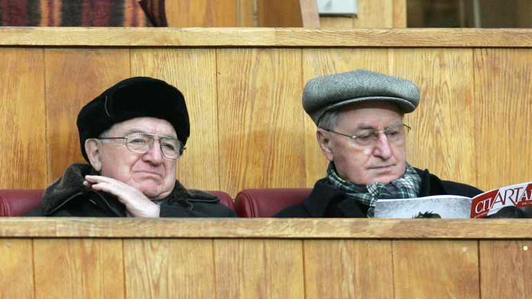 Алексей ПАРАМОНОВ (справа) и Никита СИМОНЯН. Фото Татьяна ДОРОГУТИНА